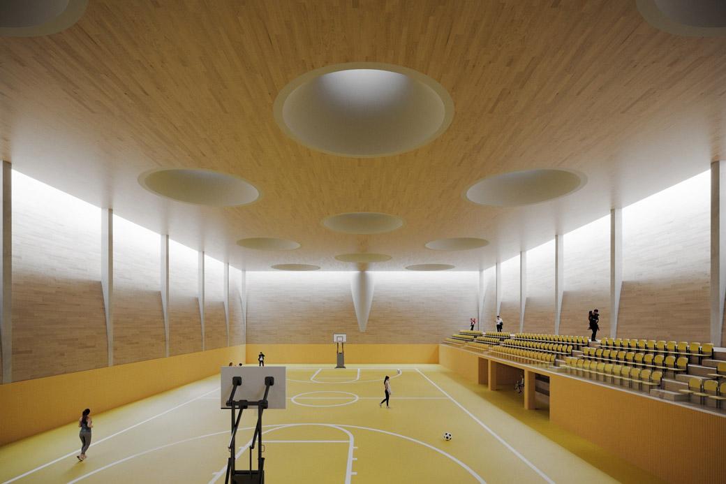 Sports hall in Moravany