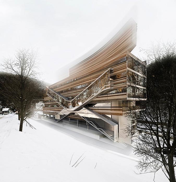Apartment building Pec pod Sněžkou