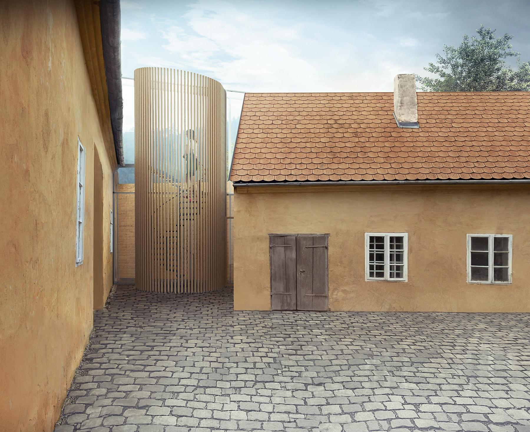 Rekonstrukce historického domu v Nedvědici