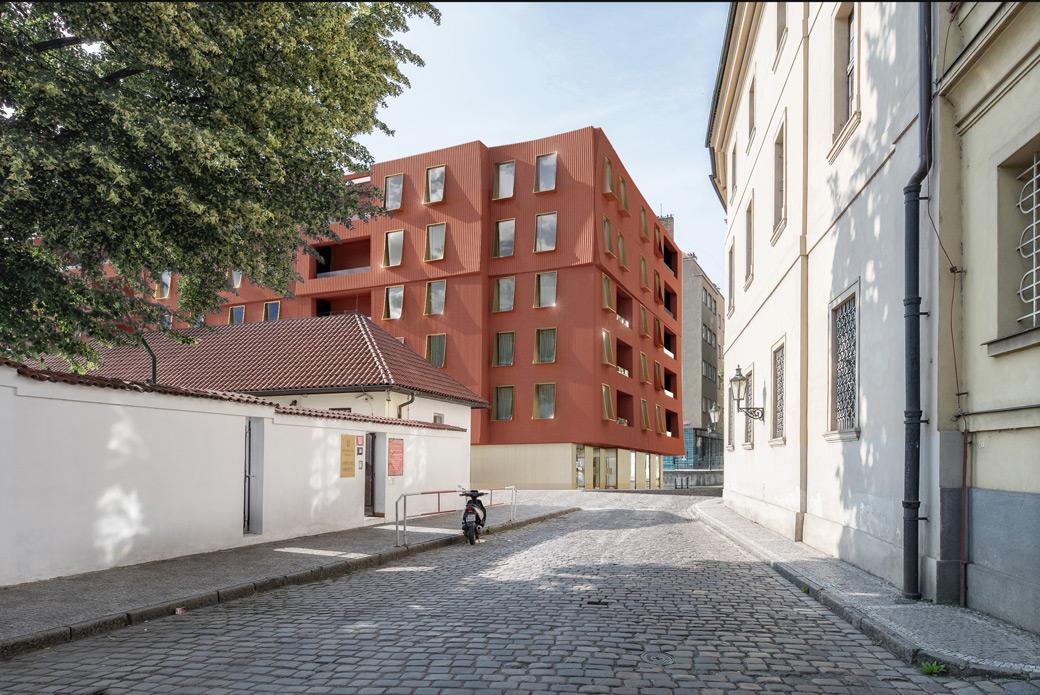 """Apartment Building """"U Milosrdných"""" in Prague"""